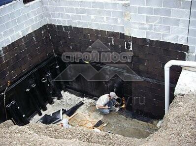 технология гидроизоляции подвалов