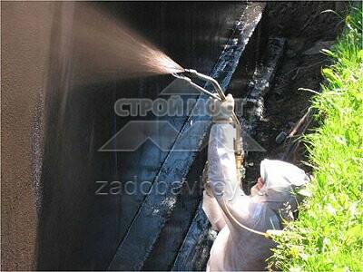гидроизоляция цементным раствором смета
