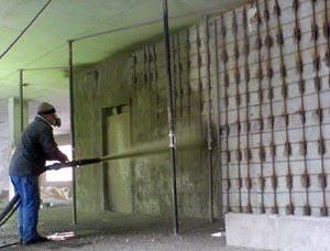 торкретирование стен
