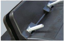 Опорно-направляющие кольца из сегментов тип AZ/AC