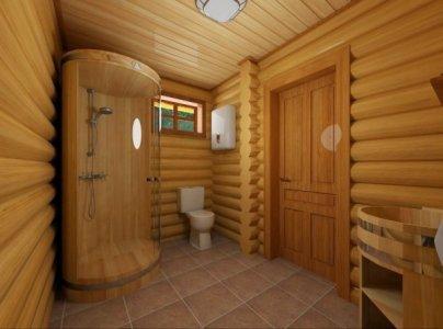 гидроизоляция душа в деревянном доме